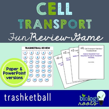 Cell Transport Review Game