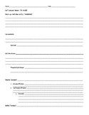 Cell Transport Student Notesheet (goes with PPT)