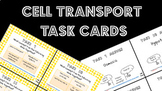 Cell Transport Task Cards (Diffusion, Osmosis, etc)
