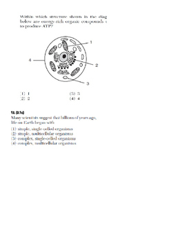 Cell Transport and Organelles Quiz