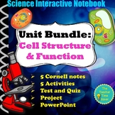 Cell Biology Notebook Bundle | Middle School Science