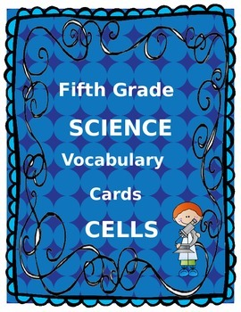 Cell Vocabulary Cards
