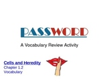Cell Vocabulary Password Game