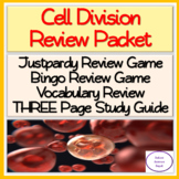 Cell division vocabulary review.