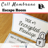 Cell membrane activity.  Cell Transport Escape Room.