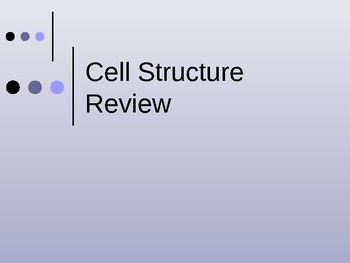 Cell parts (plant and animal) with functions notes