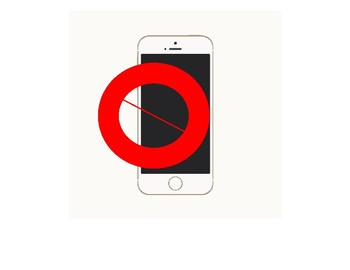 Cell phone/No cell phone allowed