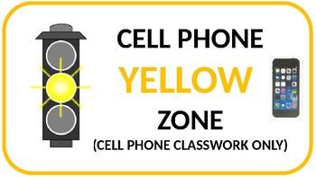 Cell phone traffic light