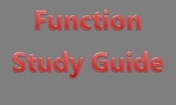 Function Study Guide