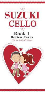 Cello Book 1 Review Cards
