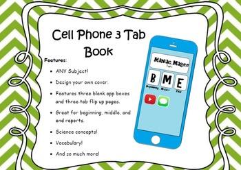 Cellphone Graphic Organizer