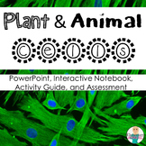 Cells: Parts of a Cell Animals and Plants Unit