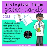 Cells Biological Term Game Cards