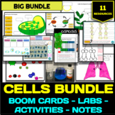 Cells Bundle - Boom Cards, Activities, Labs and Worksheets!