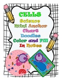 Cells Color and Fill In the Blank Doodle Anchor Charts