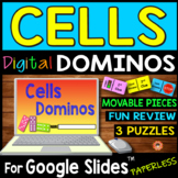 Cells DIGITAL DOMINOS for Google Slides ~3 Puzzles~