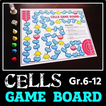 Cells Game Board - for Task Cards