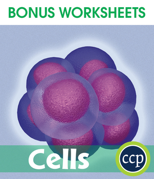 Cells Gr. 5-8 - BONUS WORKSHEETS