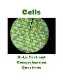 Cells: Hi-Lo Text with Paired Comprehension Questions for