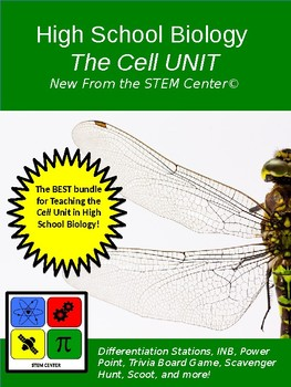 Cells High School Unit Bundle