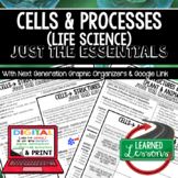 Cells Just the Essentials Content Outlines Next Generation Science with Google