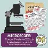 Microscope CSI Forensics Lab