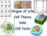 Cells Lesson & Flashcards - classroom unit, study guide, exam prep 2018 2019