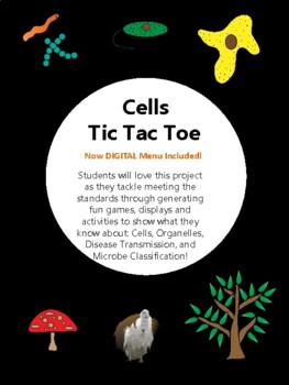 Cells, Microbes, and Diseases Tic Tac Toe