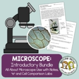 Microscope Introduction - PowerPoint and Handouts - Distance + Digital Lesson