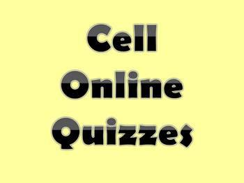 Cells Online Quizzes