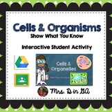 Cells & Organelles Interactive Student Activity