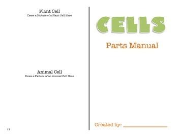 Cells Parts Manual