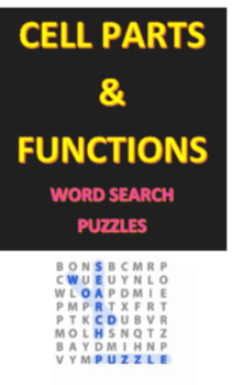 Cells Parts and Functions Crossword Puzzles