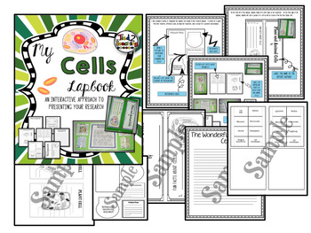 Cells - Plant and Animal Cell 5 Product Activity Bundle