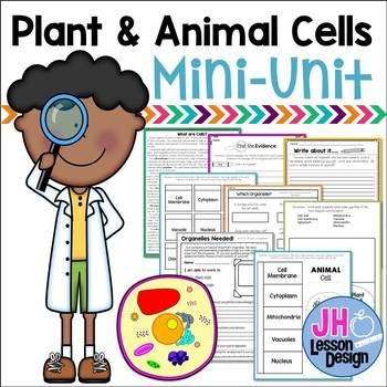 Cells: Plants and Animal Cells Mini-Unit