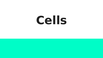 Cells Power Point