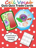 Cells Vocab Quiz Quiz Trade Cards