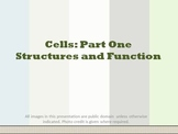 Cells Structure and Function Part One Powerpoint