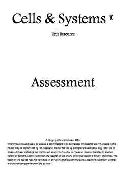 Cells & Systems Assessment