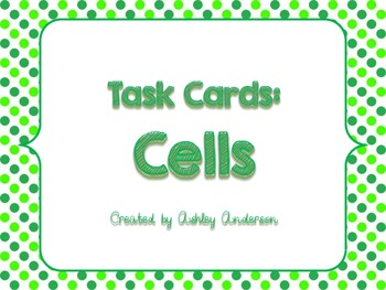Cells: Task Cards