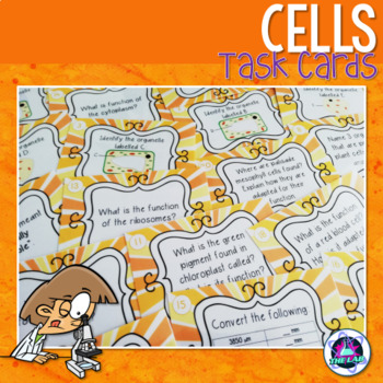 Cells Task Cards (Middle & High School)