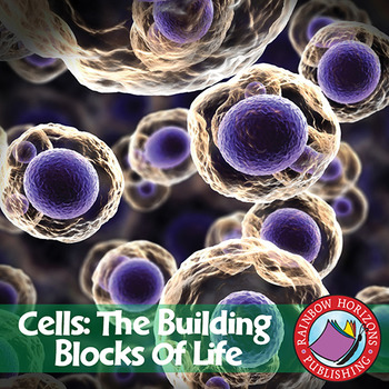 cells the building blocks of life gr 7 8 by rainbow horizons publishing. Black Bedroom Furniture Sets. Home Design Ideas