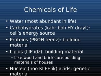 Cells: The Building Blocks of Life **UNIT**
