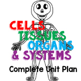 Cells, Tissues, Organs & Systems Unit Plan (Interactive Notebook Ready)