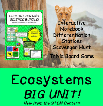 Ecology: BIG UNIT BUNDLE!