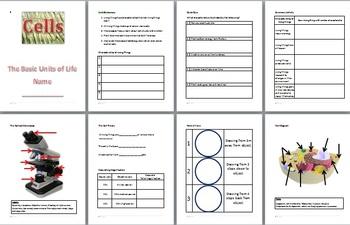 Cells - Unit 1 Student Booklet