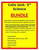 Cells Unit- BUNDLE - 5th Science