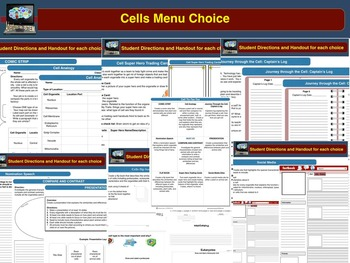 Cells Basics Unit Bundle
