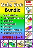 Cells Unit Bundle {Doodle notes, Interactive Notes and Activity}