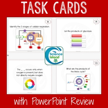 Cells Unit Bundle: PowerPoints, Notes, Task Cards and Videos